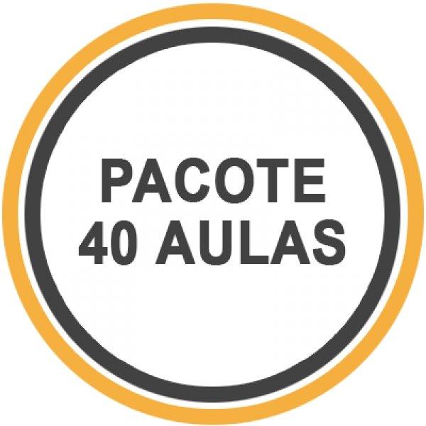 Pacote 40 Aulas