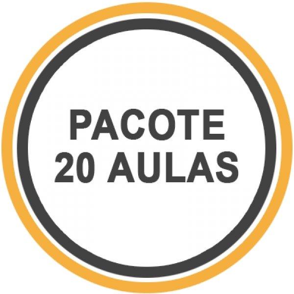 Pacote 20 Aulas